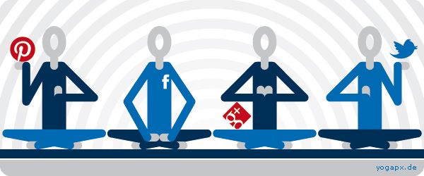 yogapx - Social Media Team: pinterest - facebook - twitter - yogapx blog - google+